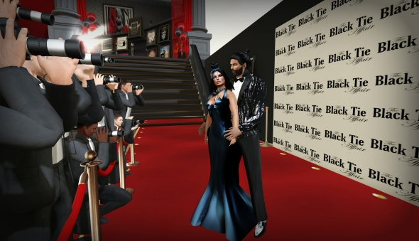 Red Carpet Black Tie1